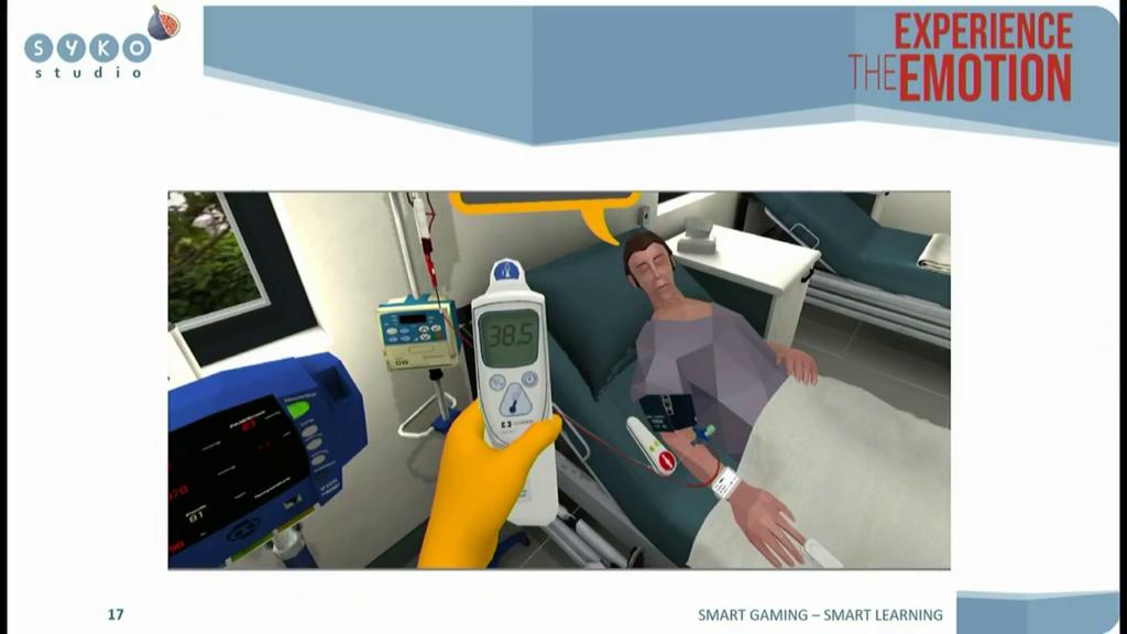 simulation température patient